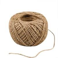 Natural flax string