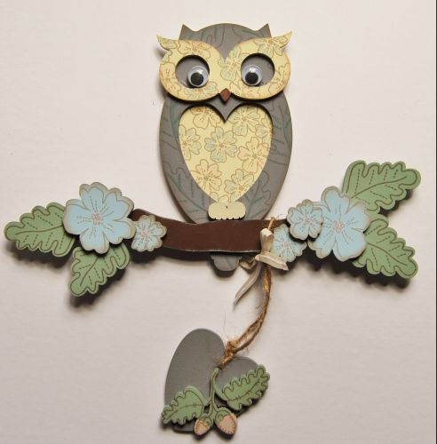 MDF Single Small Owl