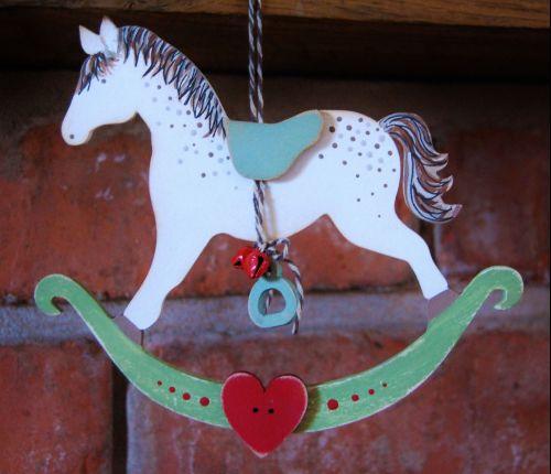 MDF Rocking Horse