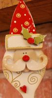 MDF Traditional Father Christmas