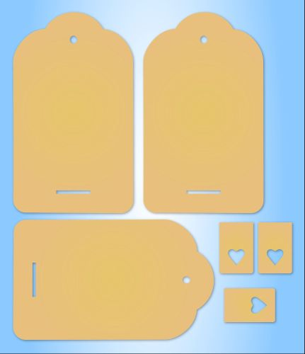 MDF Extra Large Tag with Stand