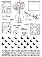 A5 Bunny Print