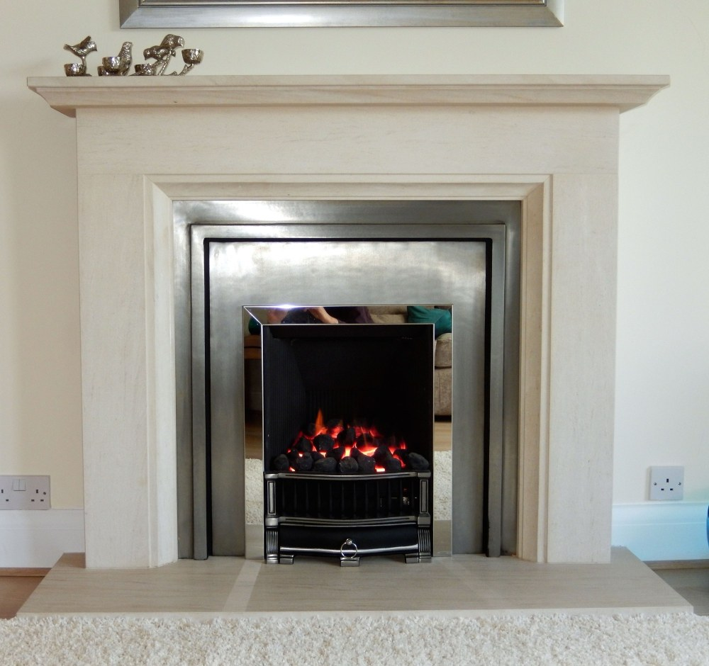 Stovax London Cast and gas fire