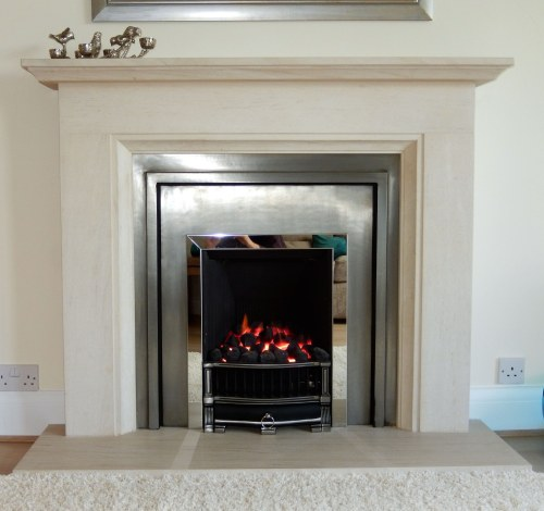 NEW Stovax London Cast and gas fire