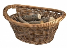 Cradle Willow Log Basket