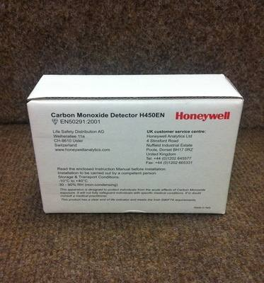 Honeywell Carbon Monoxide Monitor