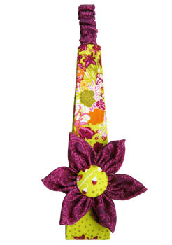 Flower Headband (Choice of Fabric) Sizes 6 months to Adult