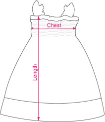 Garment Measurement | Shirred Dress