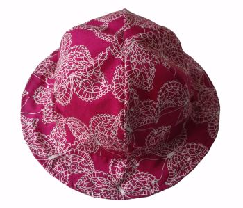 Sun Hat (Choice of Fabric) Sizes Newborn to 8 years