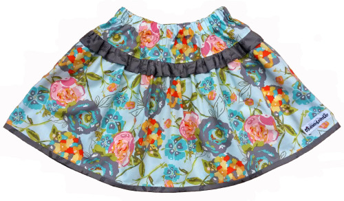 Ruffle Skirt (Choice of Fabric) Sizes 6-12 months to 7-8 years *MADE TO ORD