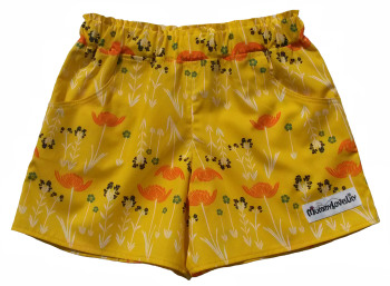Sassy Shorts (Choice of Fabric) Sizes 6-12 months to 11-12 years