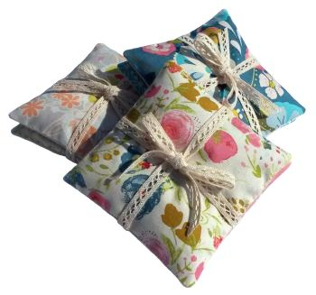 Lavender Sachets (Choice of Fabric) Set of Two