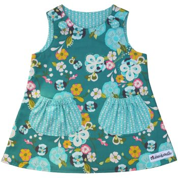 Reversible Dress (Choice of Fabric) Sizes 6-12 months to 7-8 years