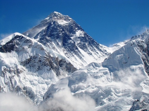 everest from kala