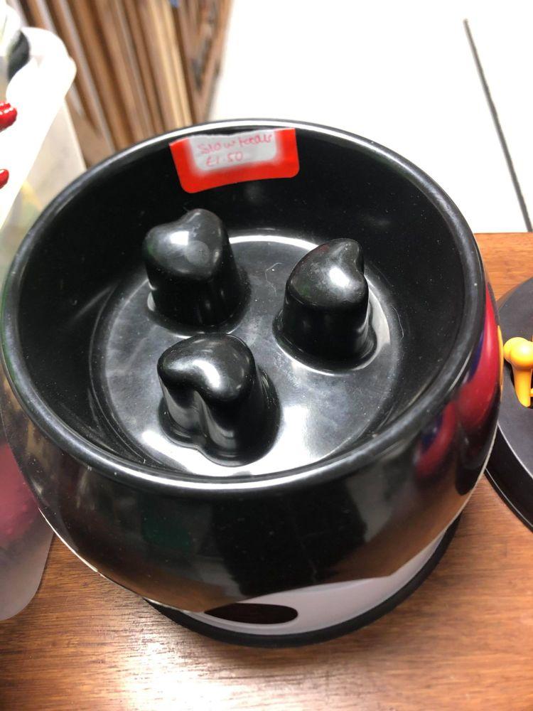 Slow Feeder Bowl - Black