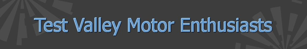Test Valley Motor Enthusiasts, site logo.