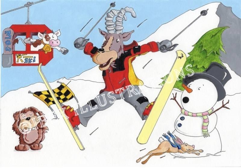 skiing Ibex (c)
