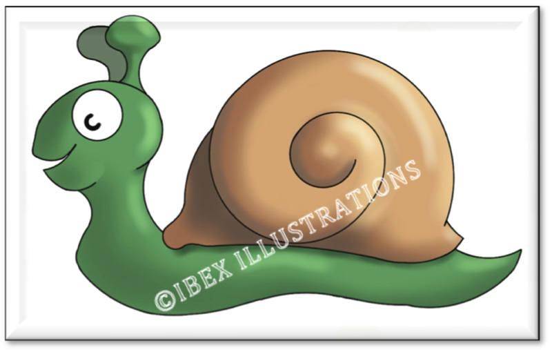 Snail button jpg