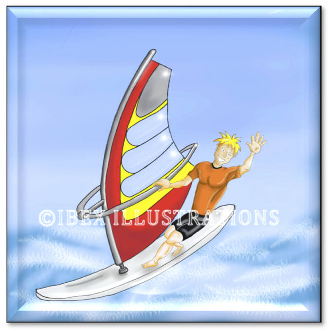 Windsurfer button jpg