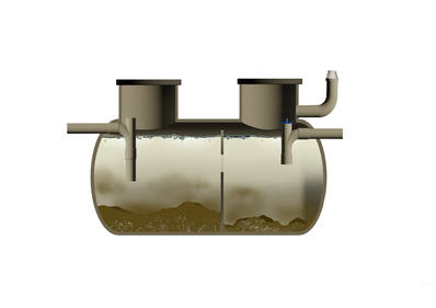 Existing septic Tanks can be converted to full wastewater treatment systems using FilterPod