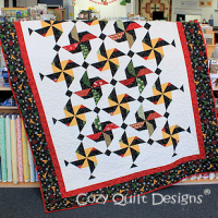 Festivities pattern by Georgette Dell'Orco