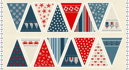 Sea View bunting panel (NEW 2016)