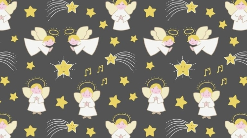 CHR10.1 A little Christmas Star - Angels on Nighttime