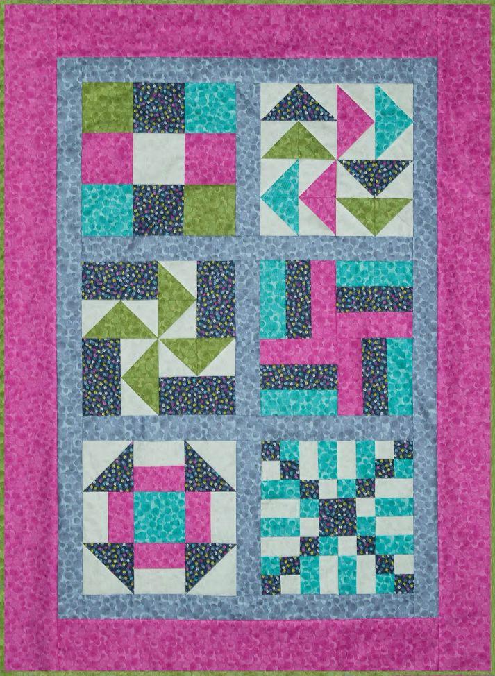 beginners sampler quilt
