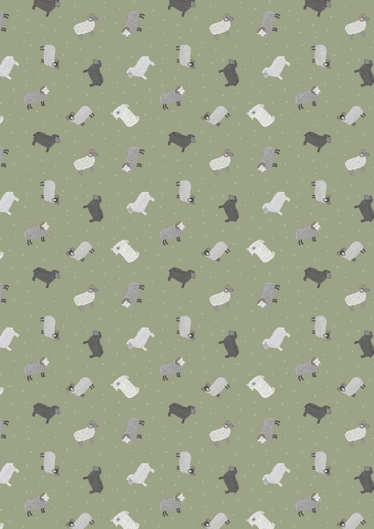 Lewis and Irene Fabric Club June 2017 'All the Small Things: On The Farm' £