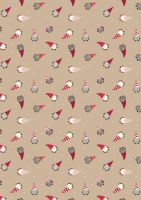 Lewis and Irene Fabric Club August 2017 Small Things at Christmas £29*(Pre-Order Dispatch Approx 1st August 2017)