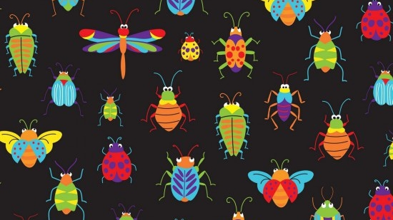 BUGS & CRITTERS - ALLOVER- #89610