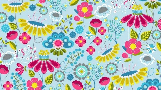MEADOW COL. 101 FLORAL #89770