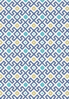 Lewis & Irene dark blue green tiles with gold A267.3