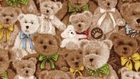 Boyds bear fabric