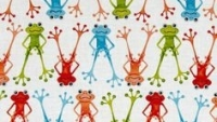 Frogs on white 6470