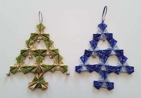folded christmas trees 1