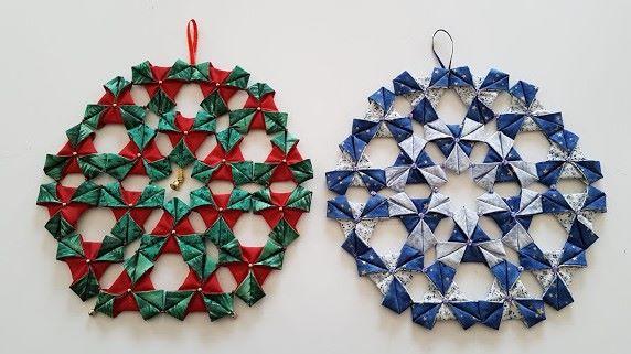 folded snowflakes 2