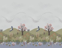 A326 The water meadow border print (digital print)