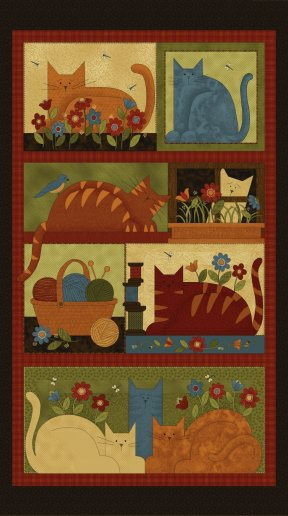 CRAFTY CAT PANEL