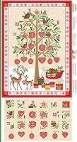 Advent calender tree panel