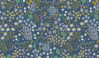 Wild Bouquet - 7471 Navy