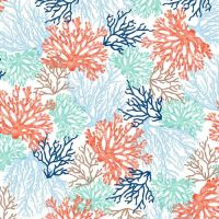 Studio E Coastal Dreams Coral Patt 4855