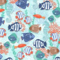 Studio E   Coastal Dreams Fish Patt 4858