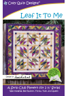 Leaf It To Me Pattern