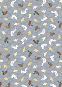 Ducks on Grey A451