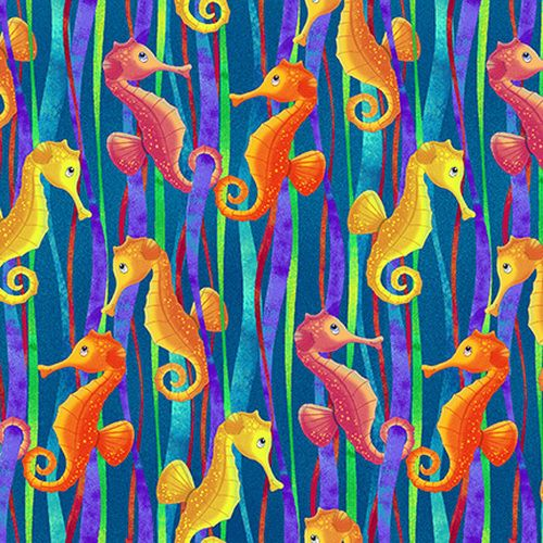 Studio E Sea World - Seahorses SE5050-76