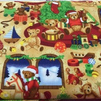 Fabri- Quilt-  Seasons Greetings 32199