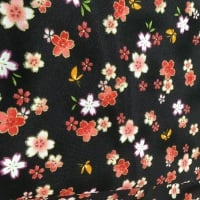 Nutex Floral on Black 68820