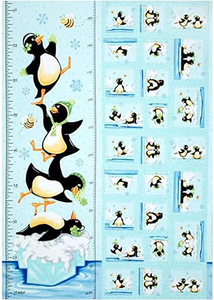 Hamil Textiles - Penguin Height Chart