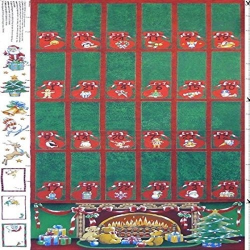 Nutex - Advent Calender Red on Green